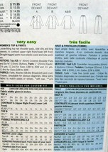 Butterick PLUS SZ Delta Burke Design Pattern #5638 Pants & Top 20W-22W-24W image 2