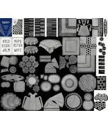 Antique Depression Era Rick Rack Crochet Patterns CD! - $12.99