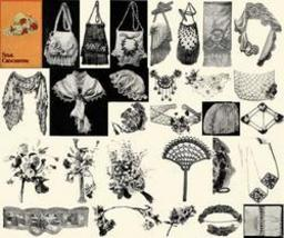 Antique Edwardian Purse Floral Crochet Patterns CD '10! - $12.99