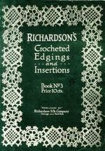 Antique Flapper Crocheted Edgings Lace Patterns CD' 16! - $12.99
