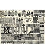 Antique Victorian Beaded Crochet Purse Patterns CD 1887 - $14.99