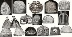 Antique Victorian SCA Tea Cosies Cosy Patterns CDc1900!