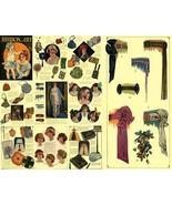 Antique c1925 Edwardian Millinery Ribbon Work CD! #23 - $14.99