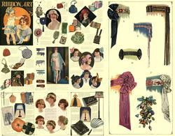 Antique FLAPPER Millinery Hat Ribbon Work CD Book 1925!