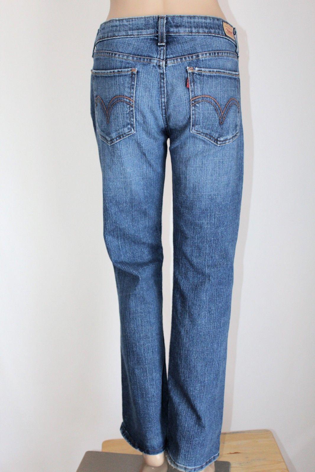 e243aab714e S l1600. S l1600. Previous. LEVI'S 518 Junior Women's Size 11 Short SuperLow  Boot Cut Stretch Jeans