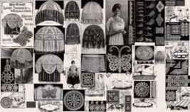 Antique Crochet Lamp Shades Patterns Medallions CD '22! - $12.99