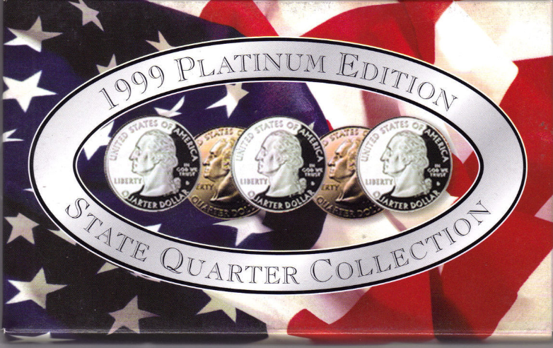 1999 PLATINUM EDITION STATE QUARTER COLLECTION