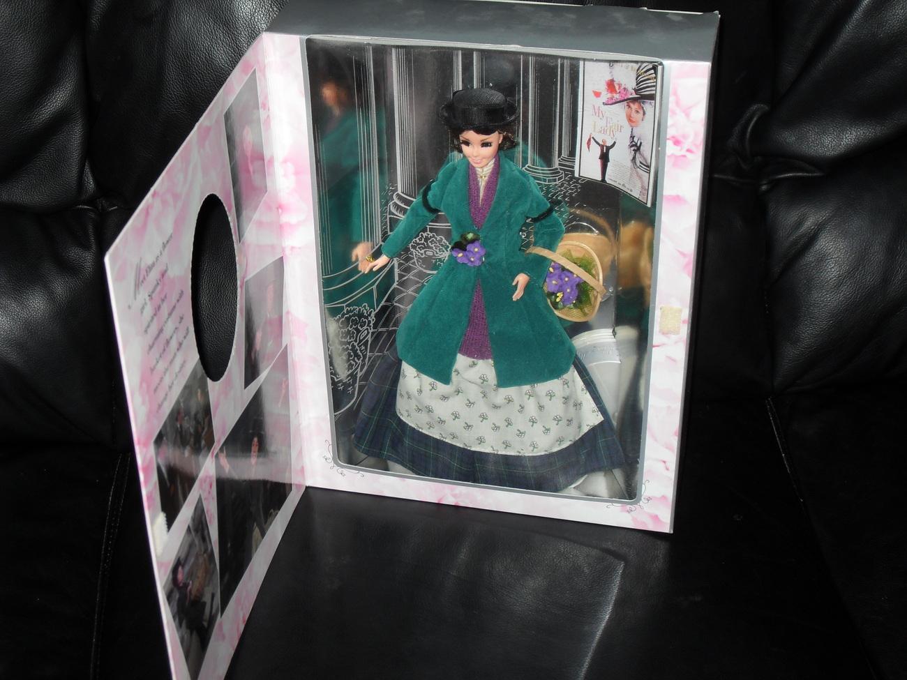1995 Barbie As Eliza Doolittle In My Fair Lady New In Box