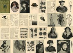 Antique Millinery Hat Making Reference CD Women #12!