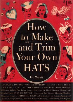 Vintage WWII Millinery Hat Making Hats CD 1944! #1