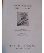 Vintage Bird Manual Perry Pictures - $12.49
