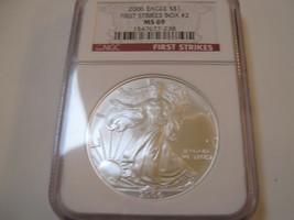 2006 Silver Eagle , NGC , MS 69 - $67.00