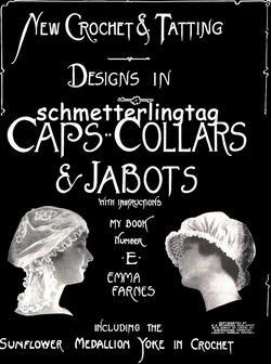 Edwardian Millinery Tat Crochet Hat Patterns CD c1910!