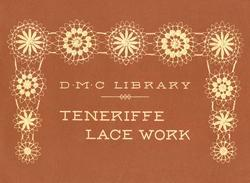 Antique Teneriffe Lace Patterns Designs Motifs Book '00