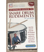 Snare Drum Rudiments VHS by Tim Wimer - $8.99