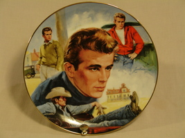 James Dean Collector Plate Americas Rebel - - $96.00