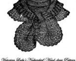 Knittedneckerchiefheaddress1 thumb155 crop