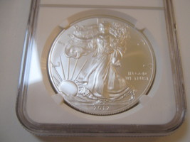 2012(S) Silver Eagle , NGC , MS 69 image 2
