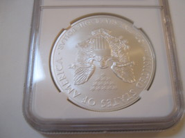 2012(S) Silver Eagle , NGC , MS 69 image 3