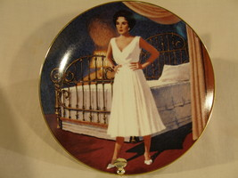 Elizabeth Taylor Cat on a Hot Tin Roof Collector Plate - $60.00