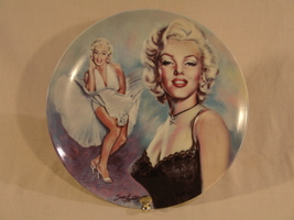 Marilyn Monroe Collector Plate  - $75.00