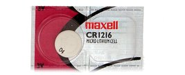 Maxell Micro Lithium Cell Battery CR1216 for Watches and Electronics 1pc - $2.47