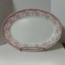 Vtg Platter Serving Tray John Maddock & Sons Eng Royal Vitreous Seville #250118 - $18.91