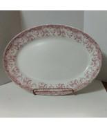Vtg Platter Serving Tray John Maddock & Sons Eng Royal Vitreous Seville ... - $18.91