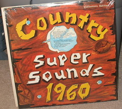 Country Super Sounds 1960 LP - O61960 - Sealed    - $49.99
