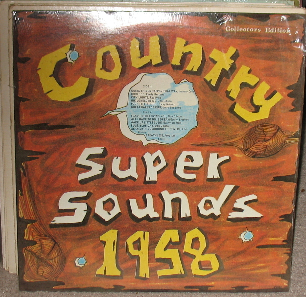 Country Super Sounds  LP 1958