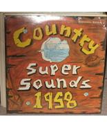 Country Super Sounds  LP 1958 - $49.95