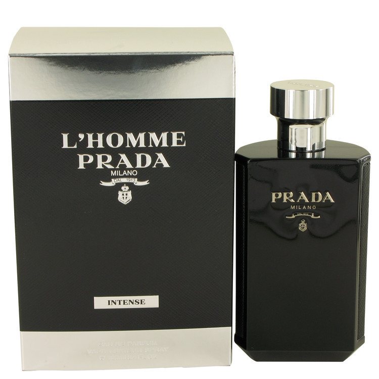 Prada L'Homme Prada Intense 3.4 Oz Eau De Parfum Cologne Spray