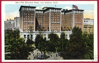 Primary image for LOS ANGELES CALIFORNIA Biltmore Hotel CA