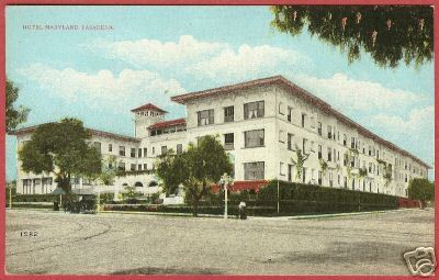 Primary image for PASADENA CALIFORNIA Hotel Maryland CA Postcard