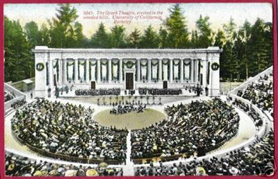 Primary image for BERKELEY CALIFORNIA Greek Theatre University CA