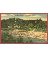 Russian River FL Postcard Beach Scene 1950 Linen BJs - $6.50