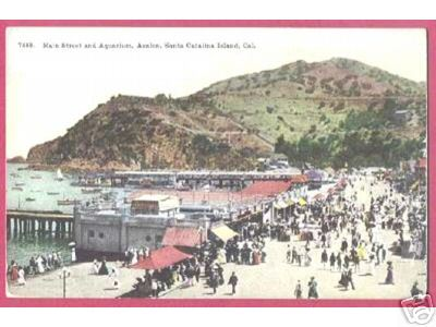 AVALON SANTA CATALINA ISLAND CALIFORNIA Main People