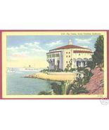 SANTA CATALINA CALIFORNIA Casino Ship Postcard - $6.50