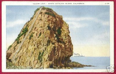 SANTA CATALINA ISLAND CALIFORNIA Sugar Loaf CA