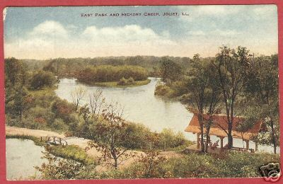 Primary image for Joliet IL East Park Hickory Creek Postcard BJs