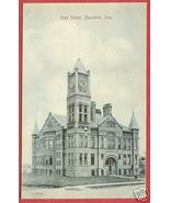 Muscatine IA Postcard High School Iowa BJs - $7.50