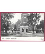 SPENCER IOWA Grace M E Church 1909 - $6.00