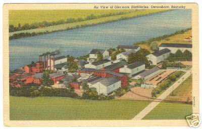 OWENSBORO KENTUCKY Glenmore Distilleries Linen PC