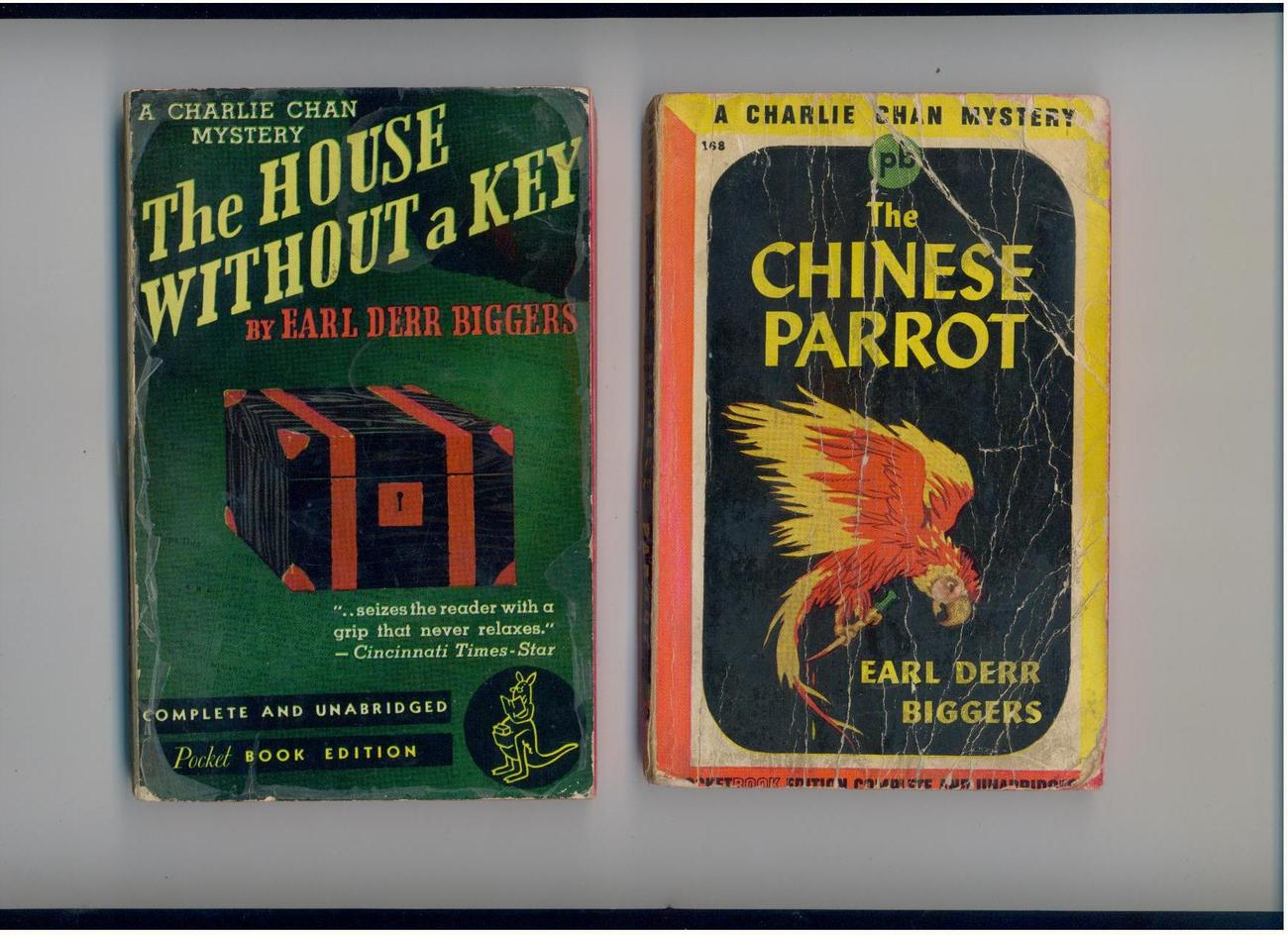 Biggers-1st two Charlie Chan mysteries-1941/42-PocketPair #6