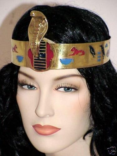 Egypt Halloween Costume Cleopatra Snake Crown Headband