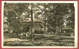 Idlewild Michigan Mc Kissic Jone's Home Mi Rppc - $24.99