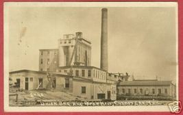 Cheboygan Mi Union Bag Paper Mill Rppc Crescent B Js - $49.99