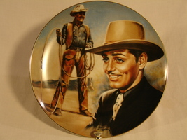 Clark Gable Collector Plate --Mint Condition! - $65.00