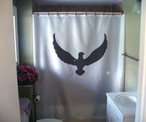 Shower Curtain dove peace wing out stretched wide fly
