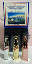 Coke Atlanta 1996 Olympics Games Gold/Silver/Bronze Mini Miniature Coca-cola bot image 4